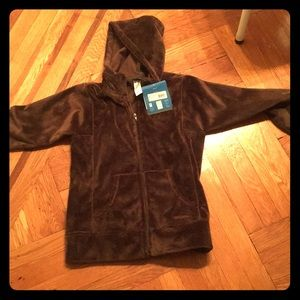 NWT Brown Womens Patagonia fleece